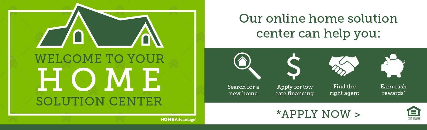 Welcome to your home solution center - apply for a mortgage from Front Royal FCU.