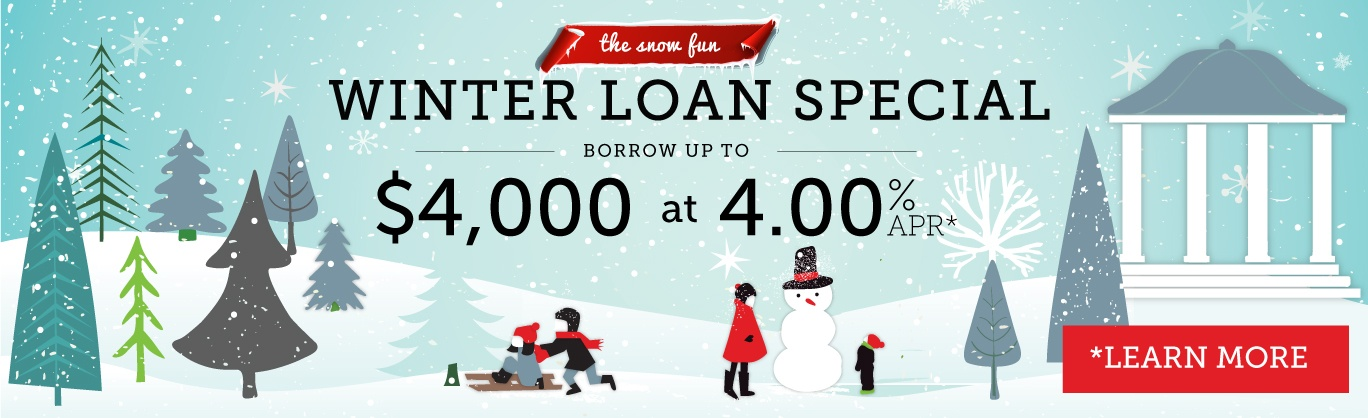 Winter Special - $4,000 at 4% APR