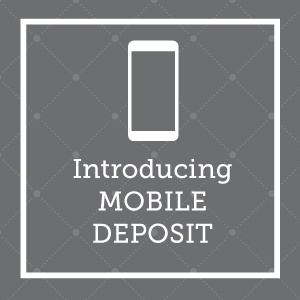Introducing mobile deposit.